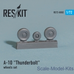 RS72-0002 Wheels set for A-10 Thunderbolt (1/72)