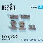 RS72-0032 Wheels set for Rafale (A/B/C) (1/72)