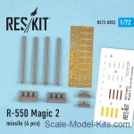 RS72-0053 Magic-2 missile, 4 pcs