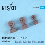 RS72-0055 Wheels set for Mitsubishi F-1/T-2