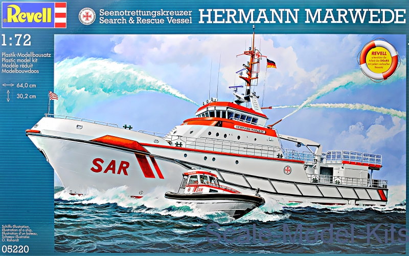 Rescue boat Hermann Marwede