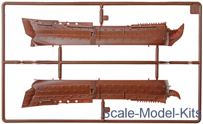 Revell Model Set Hms Victory Plastic Scale Model Kit In 1450