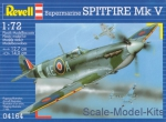 Fighters: Spitfire Mk V, Revell, Scale 1:72