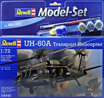 Gift Set: Gift Set UH-60A Transport Helicopter, Revell, Scale 1:72