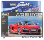 RV67094 Model Set Audi R8 Spyder