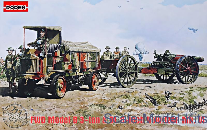 FWD Model B & BL 8-inch howitzer Mk.VI