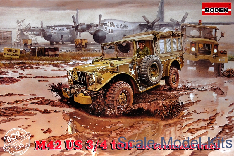 M-42 US ¾ ton 4x4 Command truck