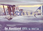 RN432 de Havilland DH4 w/RAF3a engine