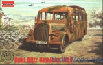 Opel Blitz Omnibus model W39 (late WWII service)