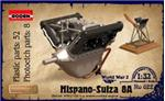 RN622 Hispano Suiza V8A, engine