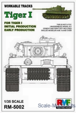 RFM-RM5002 Workable Tracks for Tiger I Early Production
