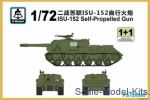 SMOD-PS720065 ISU-152 (2 models in the set)