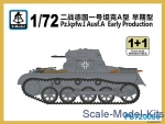 SMOD-PS720090 Pz.Kpfw.I Ausf.A Early Production (2 models in the set)