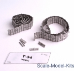 SEC3508-SL Assembled metal tracks for T-34 (mod. 1940)