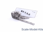 SEC3520-SL 1/35 Sector35 3520-SL - Assembled metal tracks for BT-7,5,2