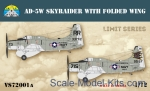 SW-VS72001a Skyraider AD-5W with folded wing (Limited edition)
