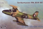 SWORD72090 BAC 167 Strikemaster (2 decal versions)