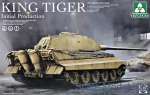TAKOM2096 WWII German heavy tank King Tiger initial production 4 in 1