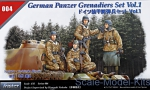 TS35004 German Panzer Grenadiers Vol.1