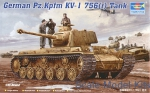 TR00366 German tank Pz.Kpfm KV-1(captured) 756 (r)
