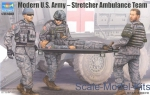 TR00430 Modern U.S. Army – Stretcher Ambulance Team