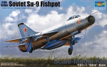 Fighters: Soviet Su-9 Fishpot, Trumpeter, Scale 1:48
