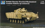 TR07102 British Warrior tracked mechanised combat vehicle up - armored