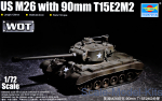 TR07170 Tank US M26 with 90 mm T15E2M2