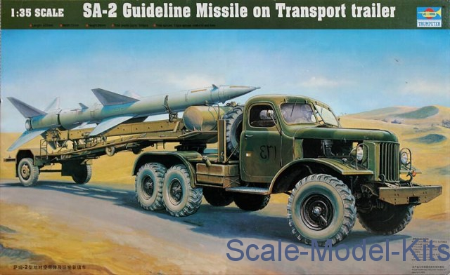 1/35 Trumpeter 00204 - SA-2 Guideline Missile on Transport trailer