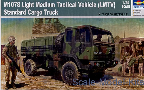 1/35 Trumpeter 01004 - M1078 Light Medium Tactical Vehicle (LMTV) Cargo Truck
