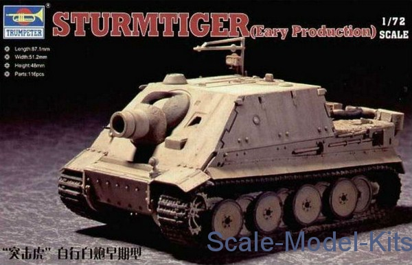 German Sturmtiger, early