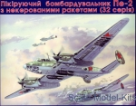 UM103 Pe-2 Soviet dive bomber with unguided rockets (serie 32)