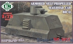 UMT603 Armored self-propelled railroad car BD-41
