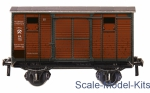 UB383 Puzzle 3D: Two-axle covered wagon