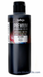 VLJ63020 Black. Acrylic Polyurethane Premium color, 200ml
