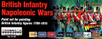 VLJ70163 Paint Wargames Set British Infantry Napoleonic Wars, 8 pcs