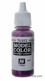 VLJ70812 043: Model Color 812-17ML. Violet