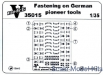 Vmodels35015 Fastening on German pioneer tools