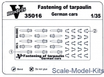 Vmodels35016 Fastening of tarpaulin German cars