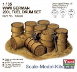 VUL-56004 WWII German 200L Fuel Drum