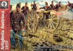 WL-AP018 Austrian artillery, 1859. War for independence of Italy