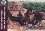 WL-AP036 WWII British paratroopers with pack howitzer