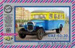ZEB-P72083 Soviet city bus GAZ-03-30 (m. 1945)