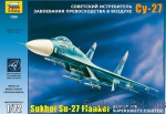 Fighters: Sukhoi Su-27 Russian interceptor-fighter, Zvezda, Scale 1:72
