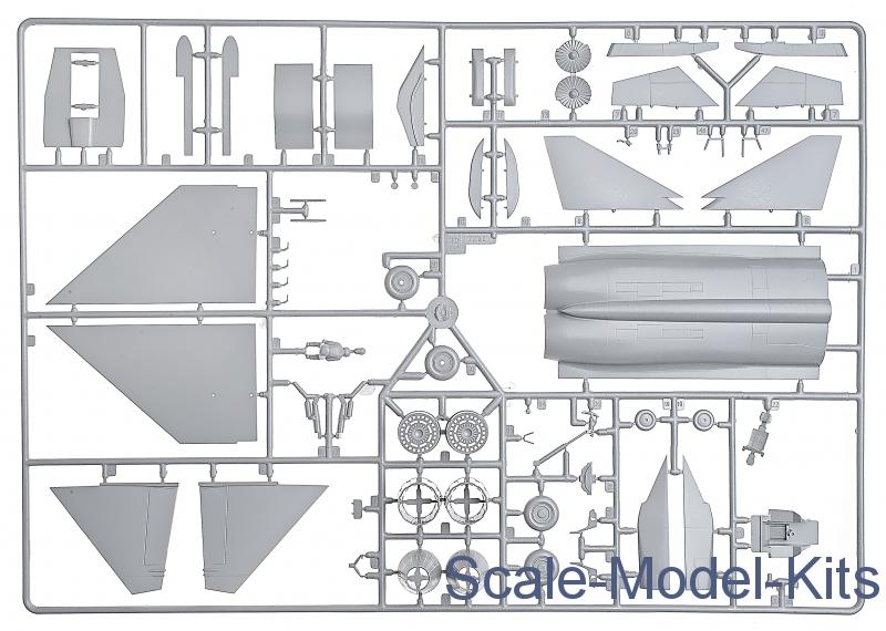 Zvezda Models MiG 1.44 Russian Multi-Role Fighter