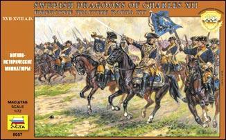 Swedish dragoons of Charles XII